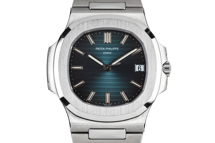 2013 Patek Philippe Nautilus Blue Dial 5711/1A-010 with Box and Papers photo