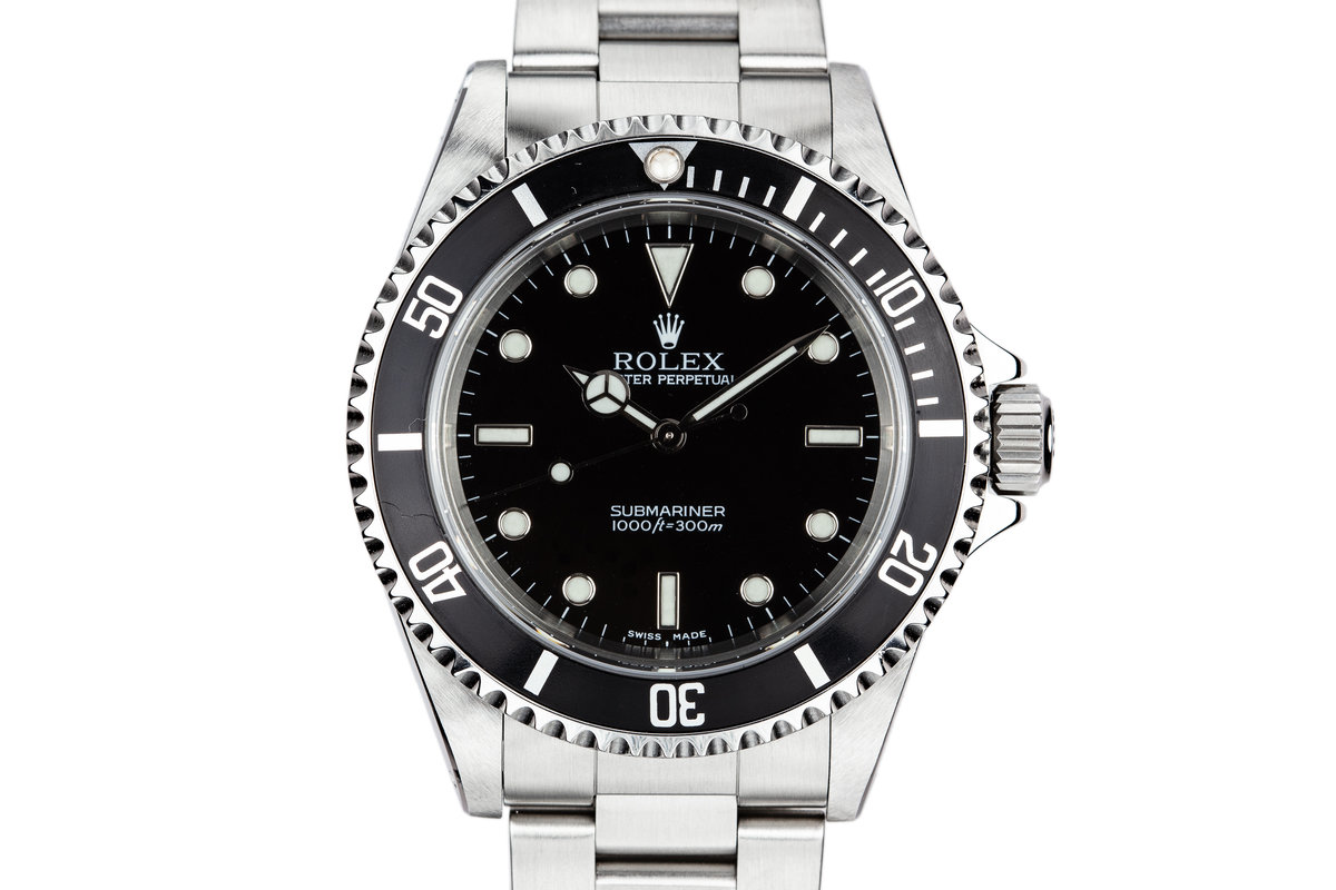 2002 Rolex Submariner 14060M photo, #0