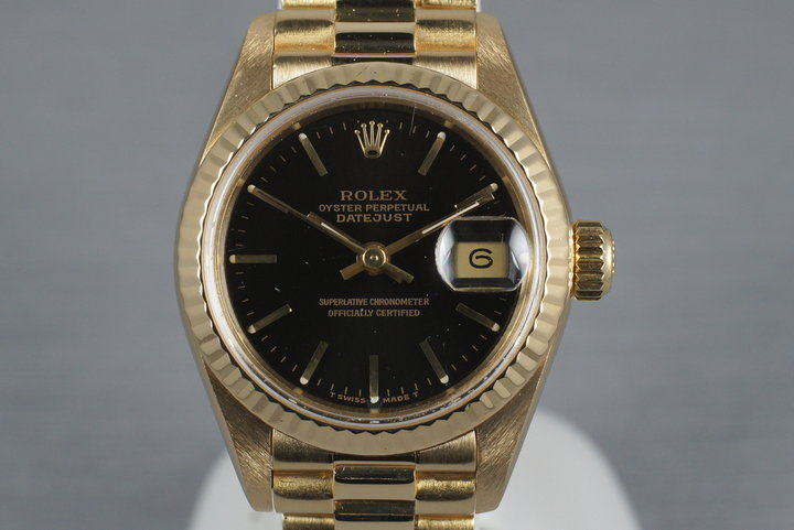 1991 Rolex Ladies YG Datejust 69178 photo