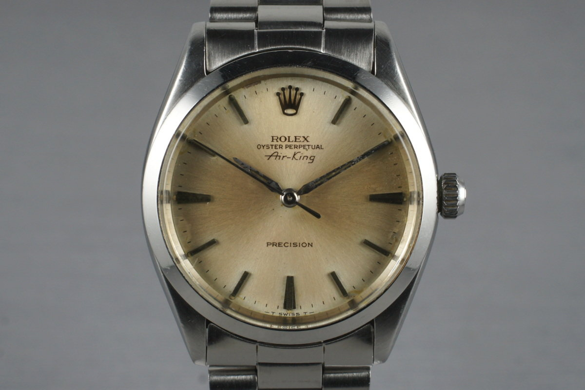 HQ Milton , 1965 Vintage Rolex Air,King 5500 with Papers