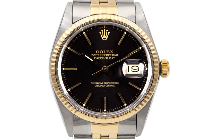 1985 Rolex Two Tone DateJust 16013 photo
