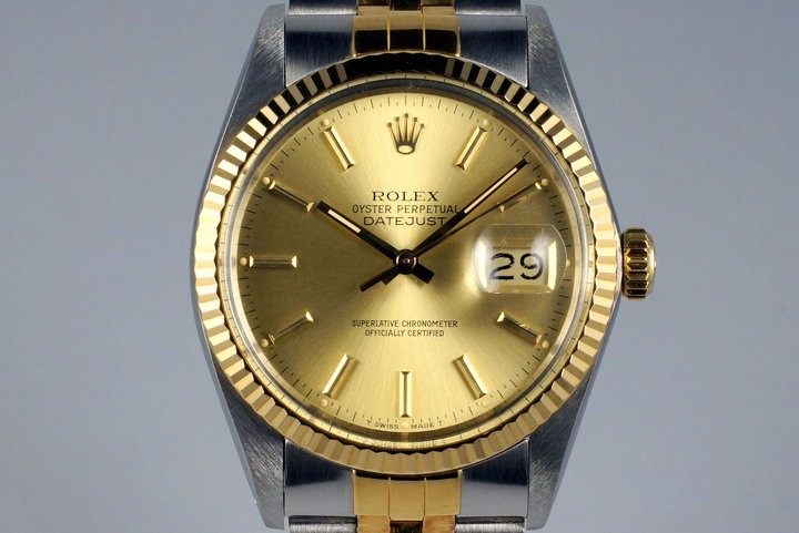 1987 Rolex Two Tone DateJust 16013 photo