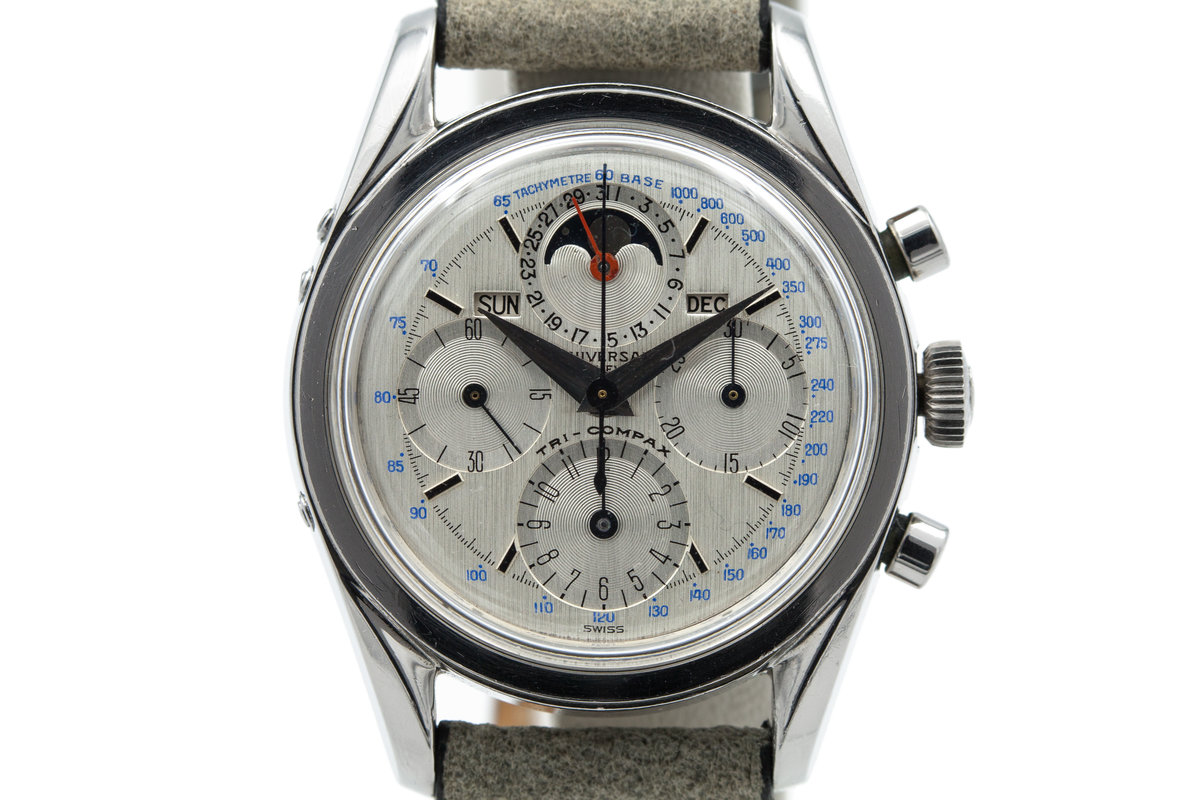 1960's Universal Geneve Tri-Compax Moonphase 222100 photo, #0