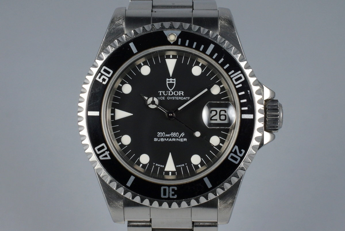 1995 Tudor Submariner 79190 with Papers photo, #0