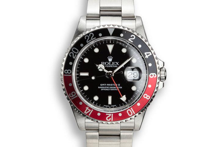 "2000 Rolex GMT-Master II 16710 ""Coke"" photo"