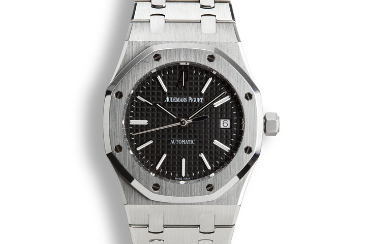 2013 Audemars Piguet Royal Oak 15300ST.00.1220ST.03 Black Dial with Box and Papers photo