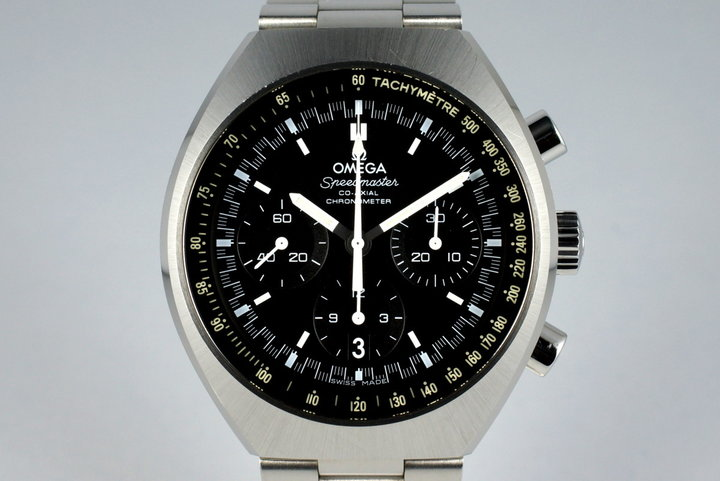 2015 Omega Speedmaster Mark II 327.10.43.50.01.001 with Box and Papers photo