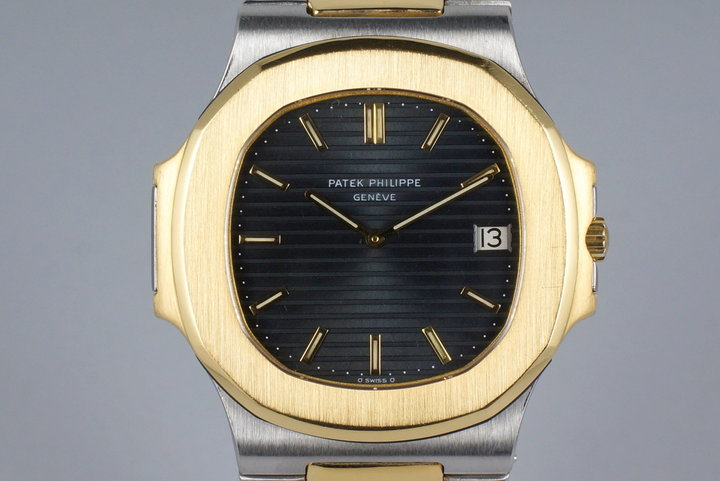 Vintage Patek Philippe Two Tone Nautilus 3700J photo
