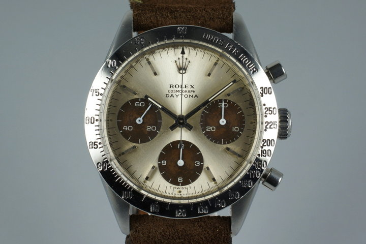1967 Rolex Daytona 6239 Tropical Dial photo