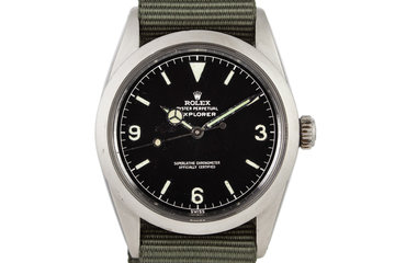 1960 Rolex Explorer 1016 Gilt Dial photo