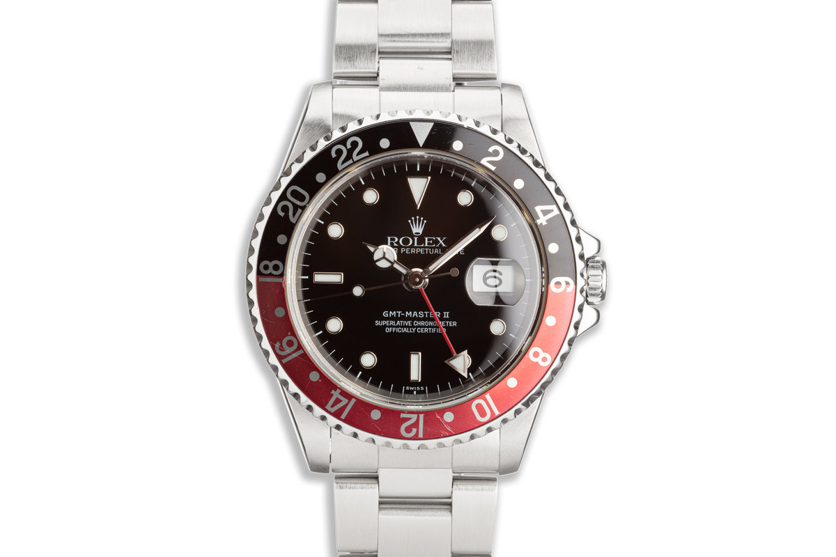 "1998 Rolex GMT-Master II 16710 ""Coke"" Bezel photo, #0"