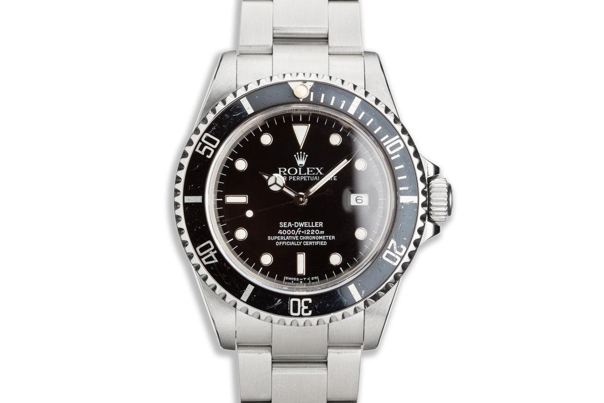 1991 Rolex Sea-Dweller 16600 photo, #0