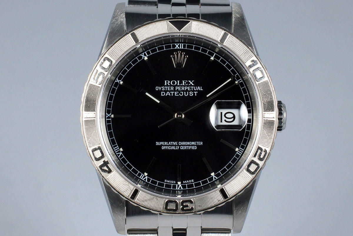 2002 Rolex DateJust 16264 Thunderbird photo, #0