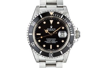 1984 Rolex Submariner 16800 photo