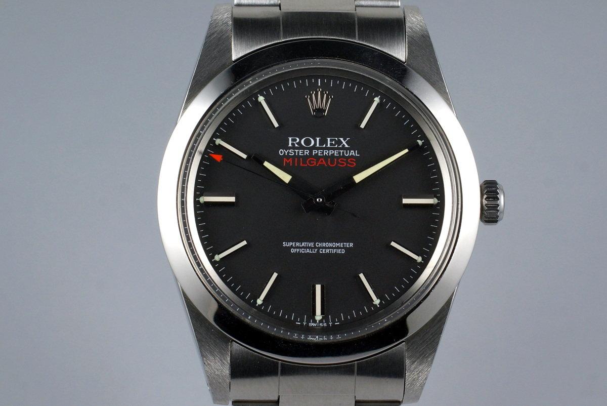 Vintage Rolex Milgauss