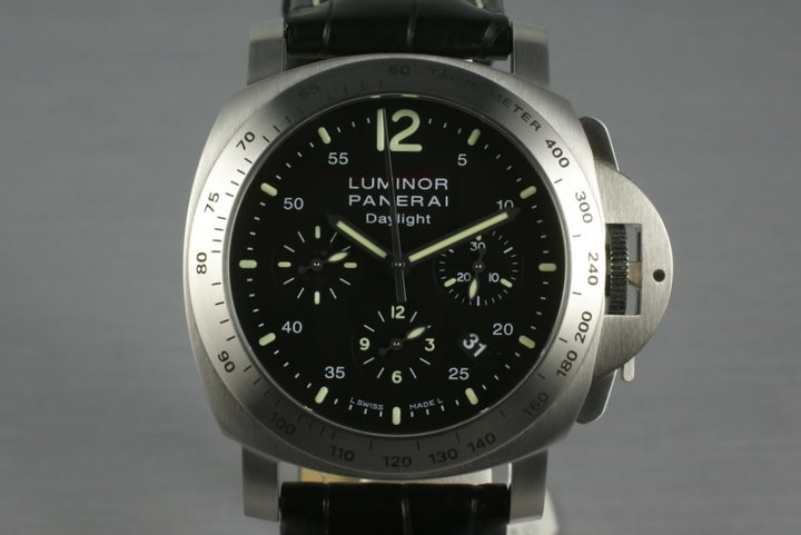 Panerai Luminor Daylight Chronograph Pam 250 photo