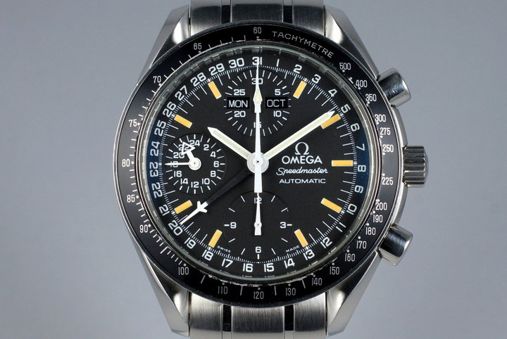 1998 Omega Speedmaster Day Date 3520.50 with Papers photo