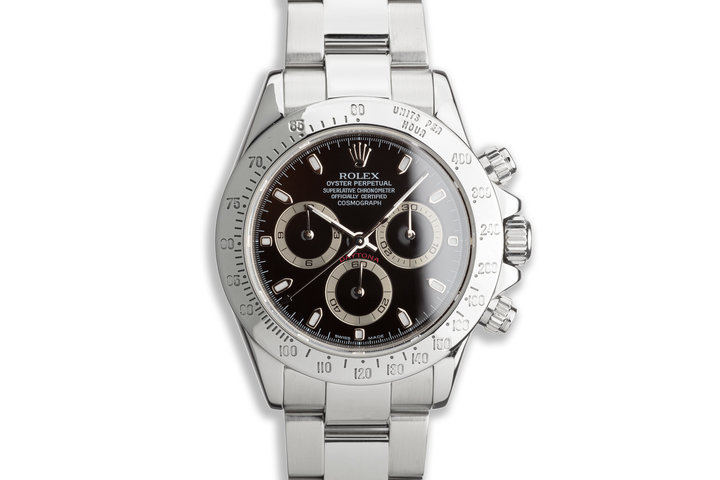 2004 Rolex Daytona 116520 Black Dial with Box and Papers photo