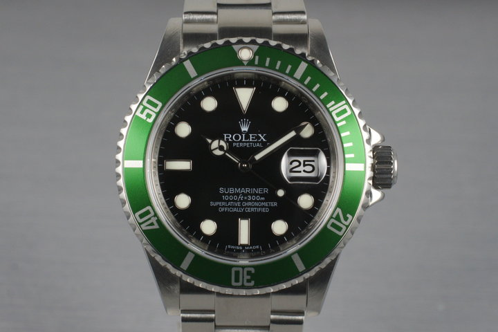 2009 Rolex Submariner 16610V with Box and Papers photo