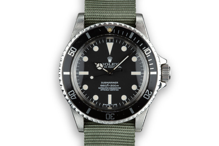 1970 Rolex Submariner 5512 photo