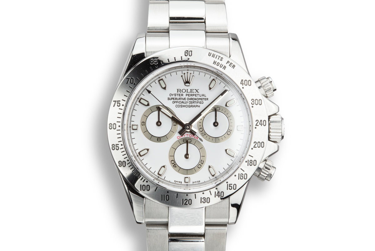 2003 Rolex Daytona 116520 White Dial photo, #0