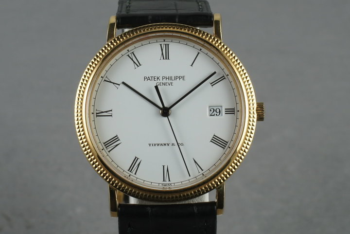 Patek Philippe Calatrava 3944  with Tiffany and Co Dial photo