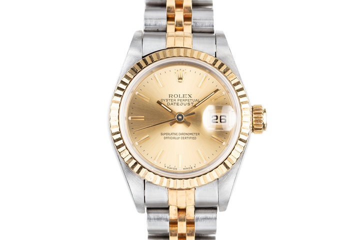 1995 Rolex Ladies Two Tone DateJust 69173 photo