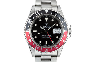 "1989 Rolex GMT-Master II 16710 ""Coke"" with Box and Papers photo"