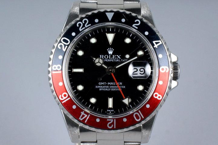 1991 Rolex GMT 16700 Service Dial photo