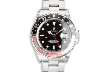 "1997 Rolex GMT-Master II 16710 ""Coke"" Bezel photo"