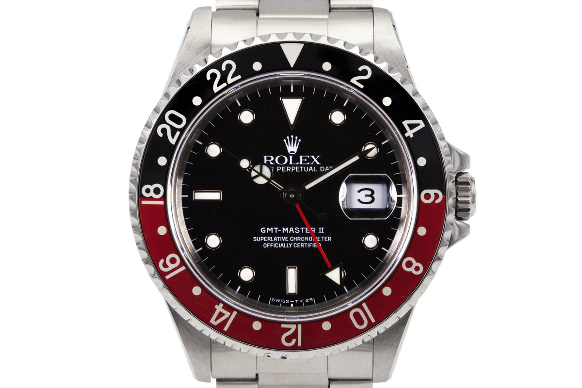 1991 Rolex GMT II 16710 with Box and Papers  photo, #0