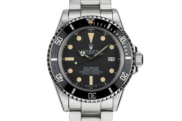 1980 Rolex Sea-Dweller 16660 Matte Dial photo