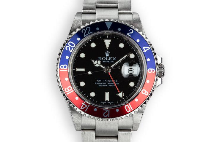 "2006 Rolex GMT-Master II 16710 ""Pepsi"" photo"