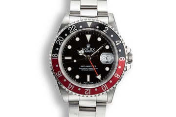 "1993 Rolex GMT-Master II 16710 ""Coke"" photo"