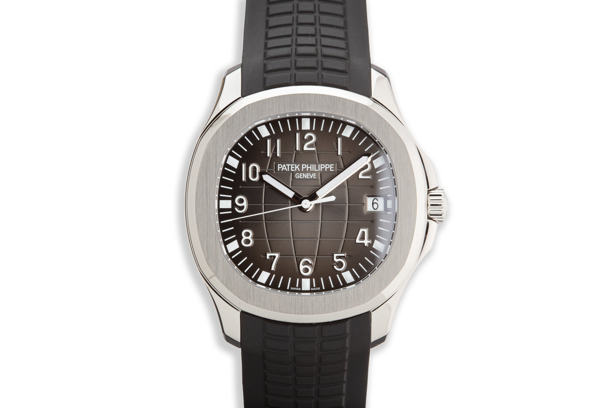 2020 Patek Philippe Aquanaut 5167A-001 with Box and Papers photo, #0