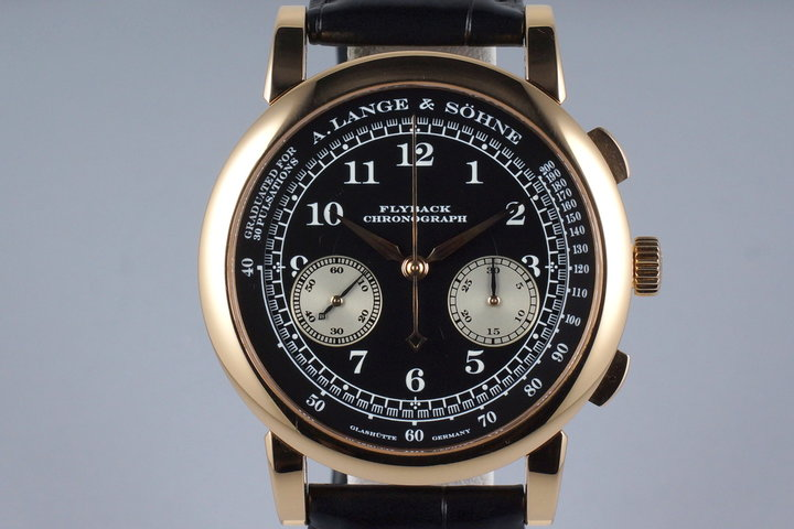 A. Lange & Sohne YG 1815 Flyback Chronograph 401.031 photo