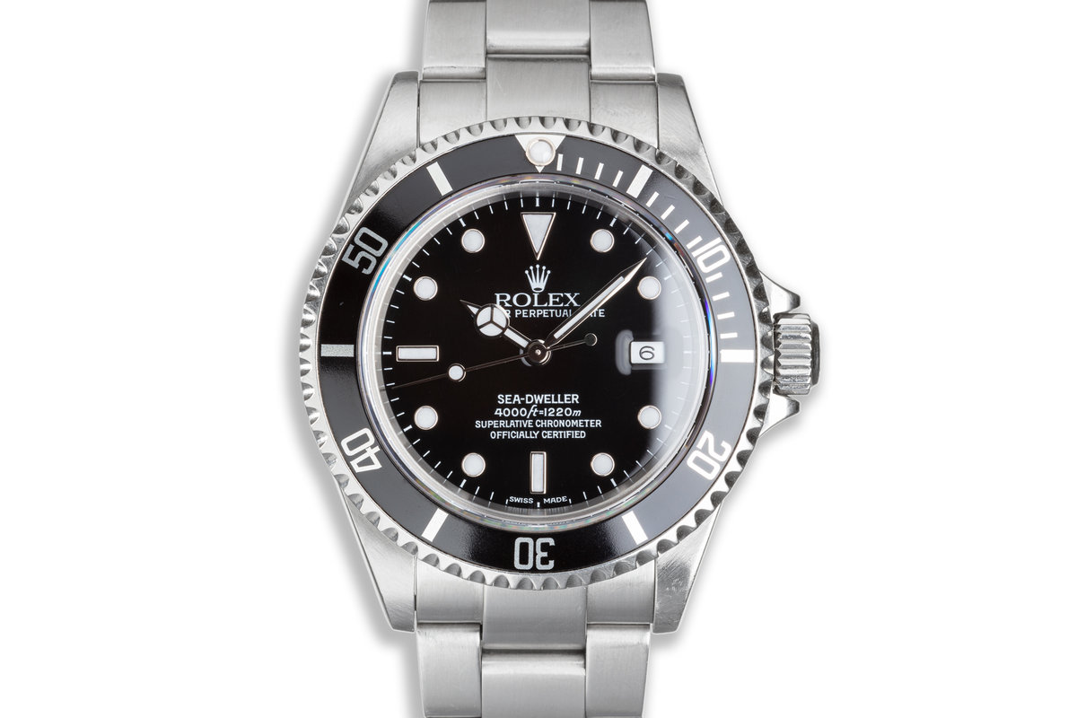 2002 Rolex Sea-Dweller 16600 with Box & Papers photo, #0