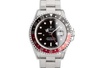 "1998 Rolex GMT-Master II 16710 ""Coke"" Bezel Box & Papers photo"