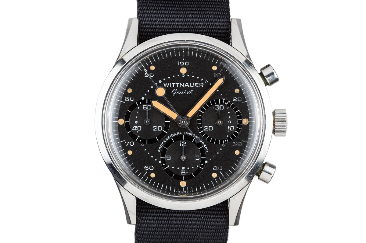 Vintage Wittnauer 242T Chronograph photo, #0