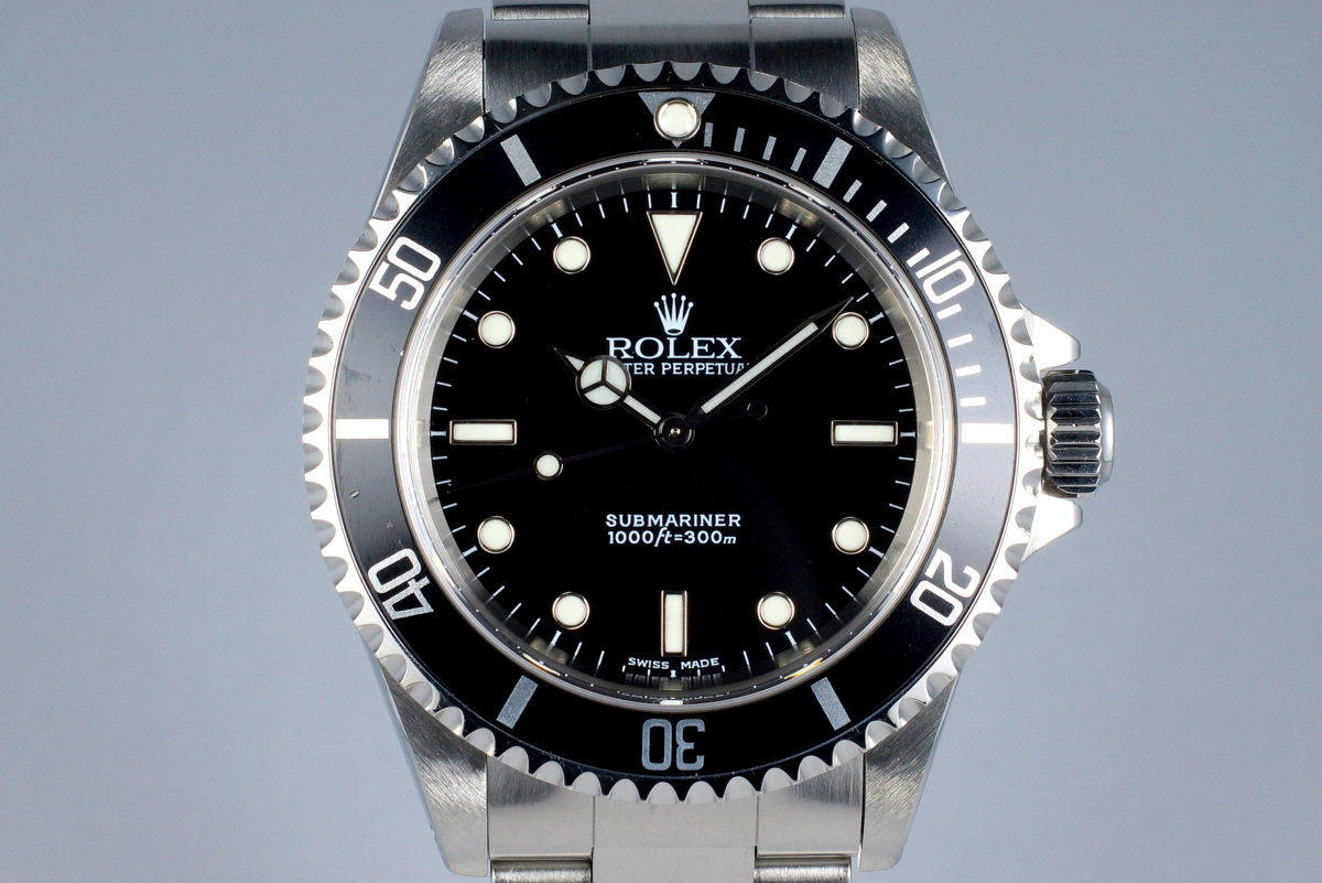 2002 Rolex Submariner 14060M with Box and Papers photo, #0