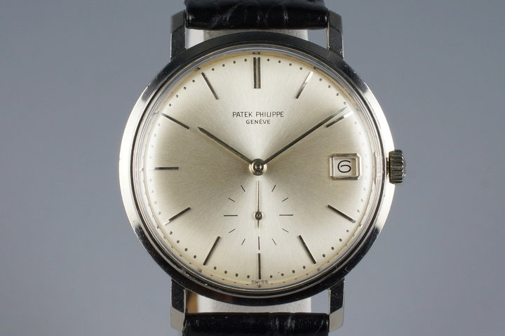 1967 WG Patek Philippe Calatrava 3445 with Archive Papers photo