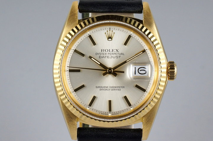 1971 YG Rolex DateJust 1601 with Silver Dial photo