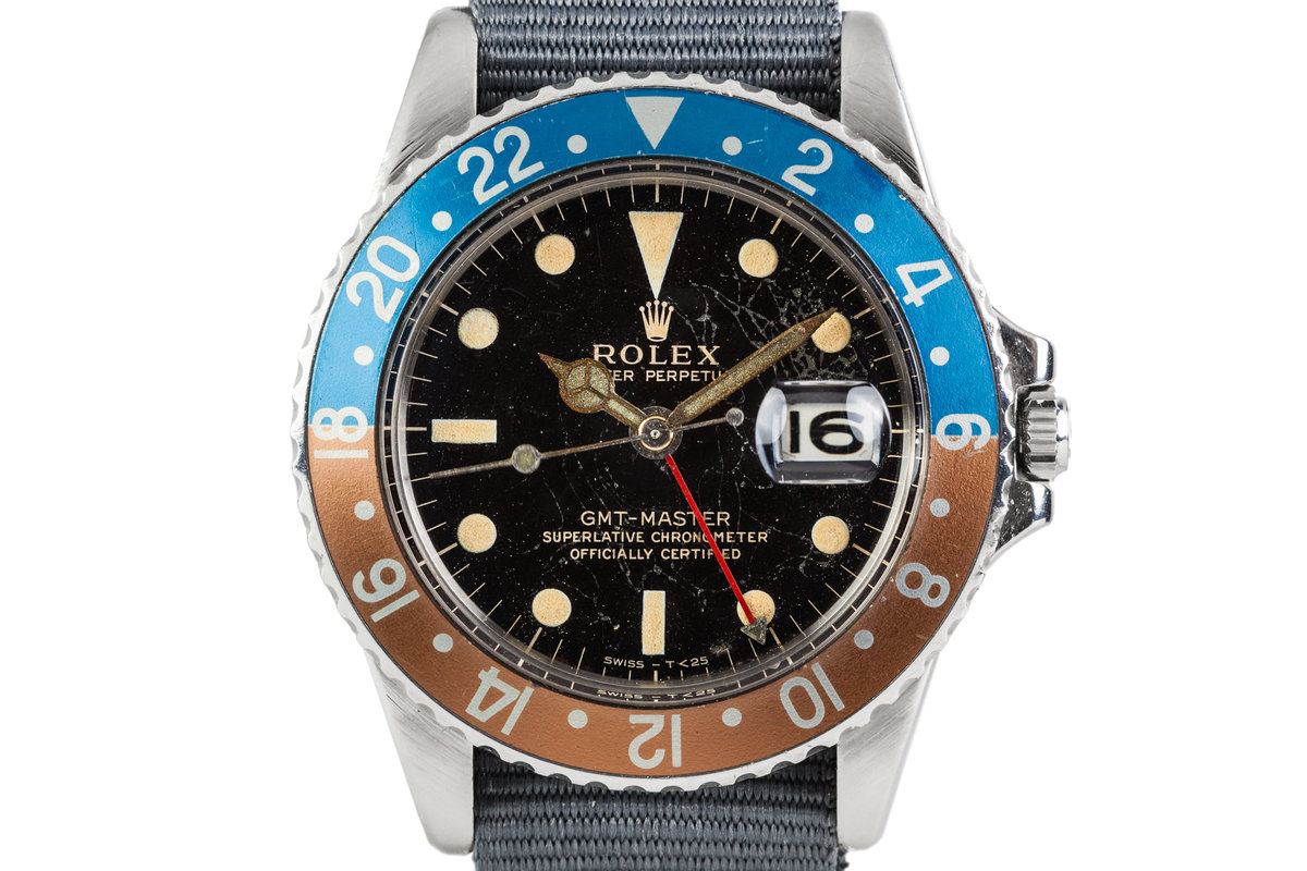 1964 Rolex GMT 1675 with Gilt Dial photo, #0