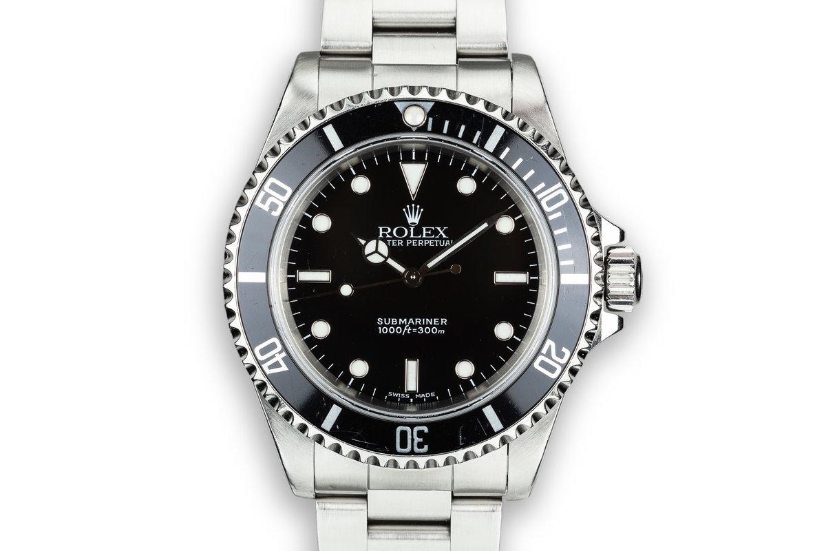 1999 Rolex Submariner 14060 photo, #0