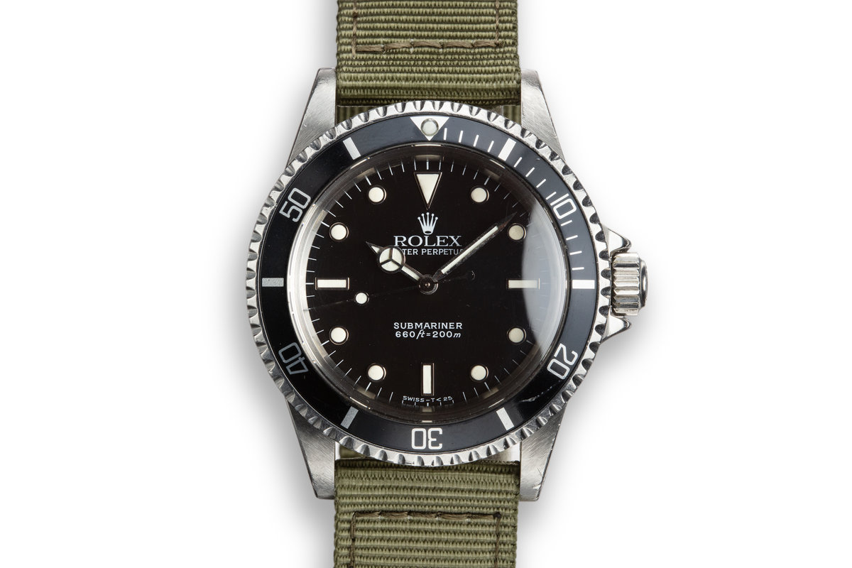 "1988 Rolex Submariner 5513 Glossy Dial ""R Serial"" photo, #0"