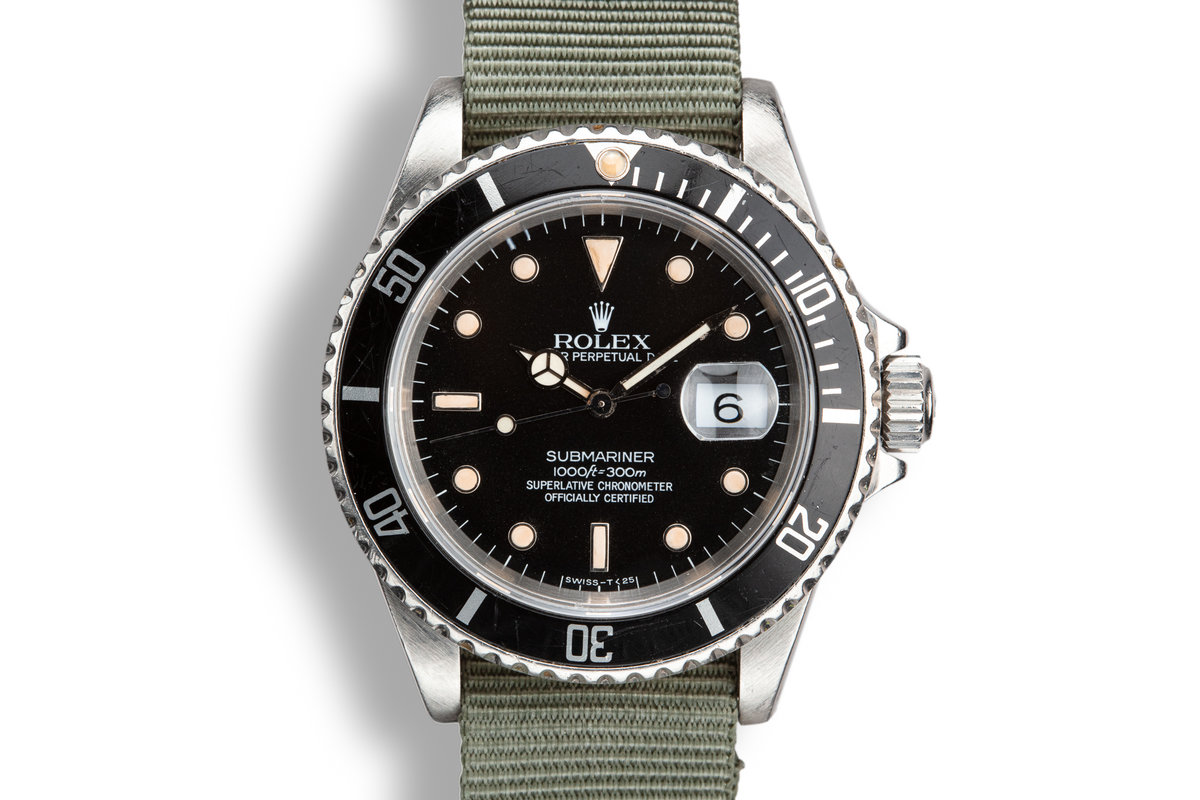 1989 Rolex Submariner 16610 photo, #0