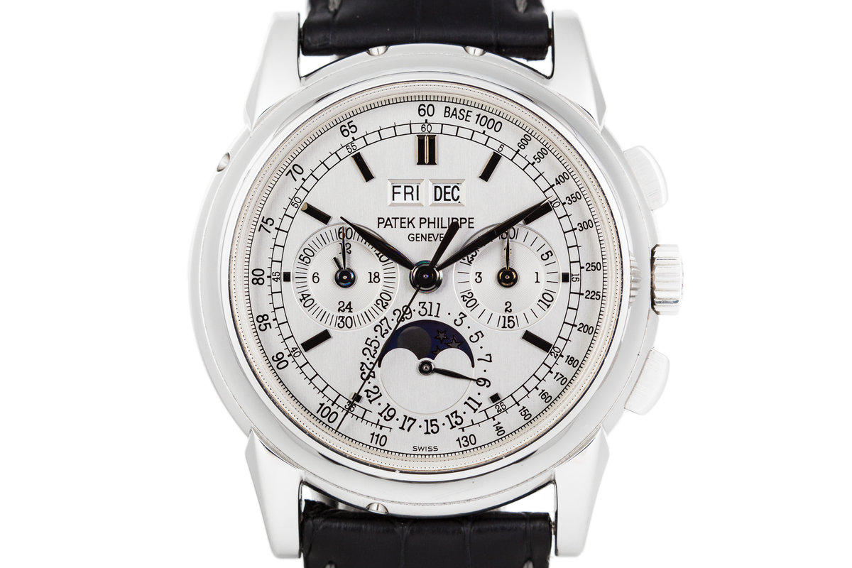 2005 Patek Philippe 5970G Perpetual Calendar 18k WG with Box and Papers photo, #0