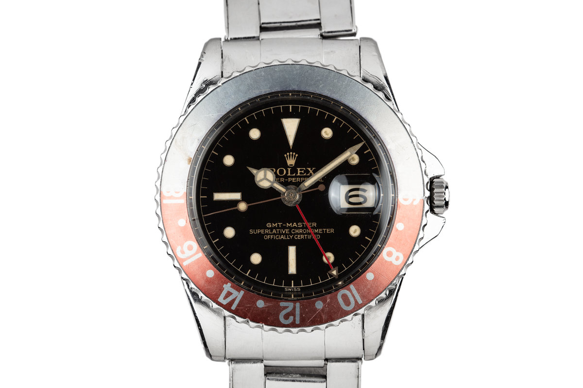 1960 Rolex GMT-Master 1675 Gilt Dial photo, #0
