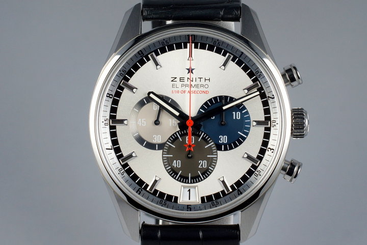 2015 Zenith El Primero 03.2041.4052 Striking Tenths with Box photo