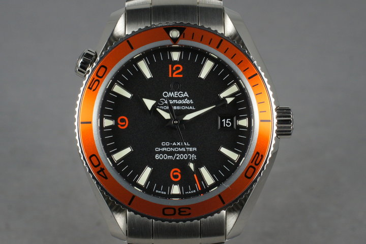 Omega Planet Ocean 2209.5 with Box and Papers photo
